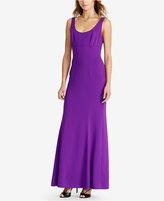 Lauren Ralph Lauren Stretch Crepe Gown