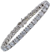 Tiffany & Co. Platinum & 16.78ct Diamond Tennis Bracelet