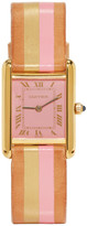 Lacalifornienne Pink and Gold Small Cartier Tank Watch