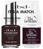 "IBD Advanced Wear - ""It's A Match"" Duo - Plum Raven - 14ml / 0.5oz Each"