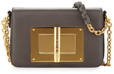 Tom Ford Natalia Medium Chain Crossbody Bag, Dark Gray