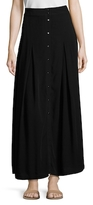 IRO Rosie Button Front Maxi Skirt