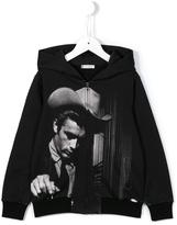 Dolce & Gabbana James Dean print hoodie - kids - Cotton - 3 yrs
