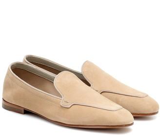 Max Mara Laric suede loafers