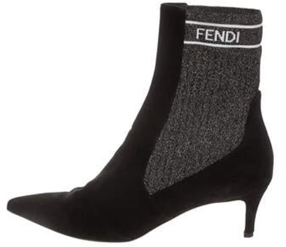 cbc065799fc 2018 Velvet Pointed-Toe Ankle Boots Black 2018 Velvet Pointed-Toe Ankle  Boots