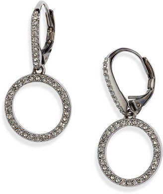 Nadri Clean Frontal Hoop Earrings
