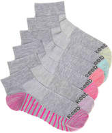 Reebok Quarter Cut Ankle Socks - 6 Pack - Women's