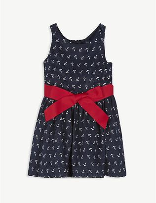 Ralph Lauren Anchor-print woven dress 2-12 years