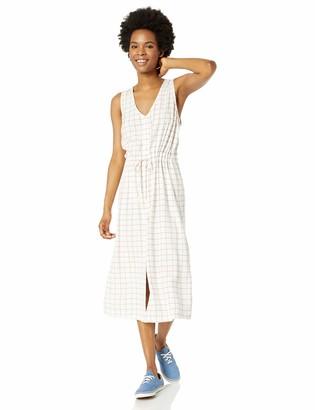 RVCA Womens Strake MIDI Dress