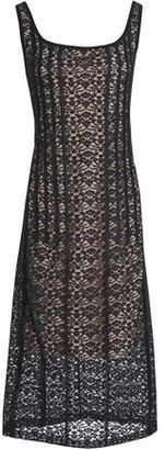 Stella McCartney Cotton-blend Lace Midi Dress