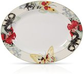 Mikasa Modern Butterfly 14 Inch Oval Platter