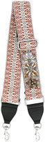 Rebecca Minkoff embellished jacquard strap