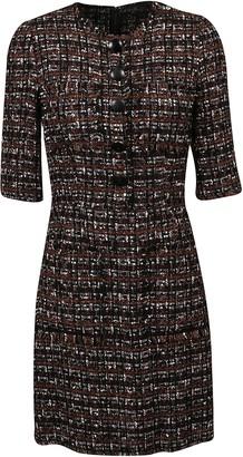 Dolce & Gabbana Woven Buttoned Dress
