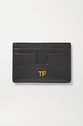 Tom Ford Leather Cardholder - Black