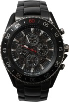 Michael Kors WATCH JetMaster Black Ion-Plated Watch