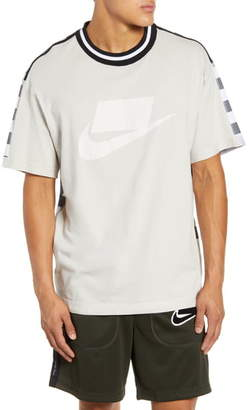 Nike Cotton & Mesh Crewneck T-Shirt