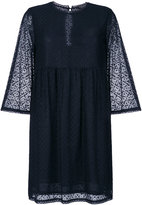 Twin-Set sheer flared dress - women - Cotton/Polyamide/Polyester - 42
