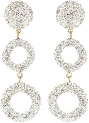 Lele Sadoughi Wind Chime embellished earrings