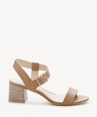 Sole Society Women's Saumya Asymmetrical Sandals Acacia Tan Size 5 Leather From