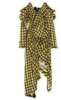 Preen by Thornton Bregazzi Milo gingham silk dress