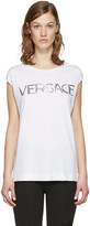 Versace White Muscle T-shirt