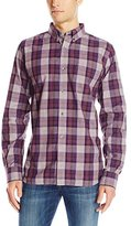French Connection Men's Scattered Poems Button Down Shirt