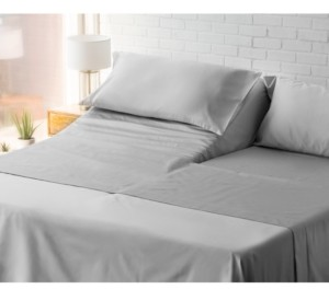 Charter Club Damask Split King 5-Pc Sheet Set, 550 Thread Count 100% Supima Cotton, Created for Macy's Bedding