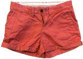 Tommy Hilfiger Red Cotton Shorts for Women