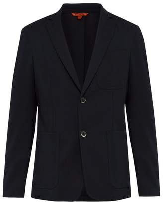 Barena Venezia - Maranto Single Breasted Wool Blend Blazer - Mens - Navy