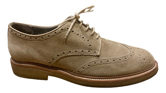 Burberry Brown Suede Lace ups