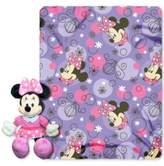 "Disney Minnie Mouse ""Perfume Pretty"" Hugger Pillow & Throw Set"