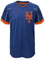 Majestic New York Mets Emergence Crew T-Shirt, Big Boys (8-20)