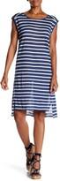 Velvet by Graham & Spencer Leila Linen Striped Dress