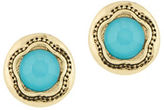 Laundry by Shelli Segal Pacific Highway Round Stone Stud Earring
