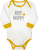 Giggle organic cotton baby long-sleeve baby bodysuit - print