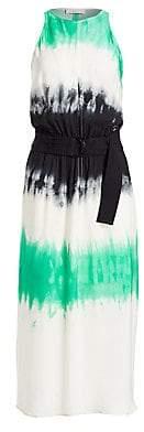 A.L.C. Women's Tallulah Tie-Dye Silk Maxi Dress