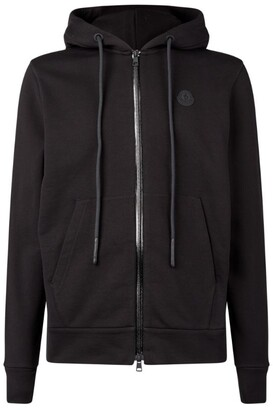 Moncler Zip Front Hooded Cardigan