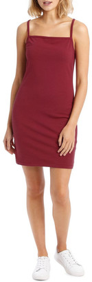 Miss Shop Essentials Bodycon Square Neck Dress