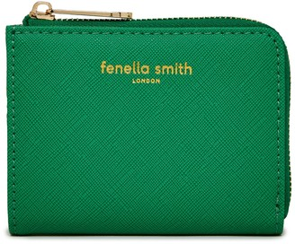 Fenella Smith Green Vegan Leather Small Purse