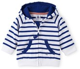 Petit Bateau Baby boy heavy jersey hooded sweatshirt