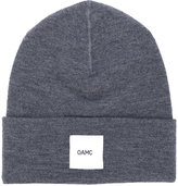 Oamc logo patch beanie - men - Wool - One Size