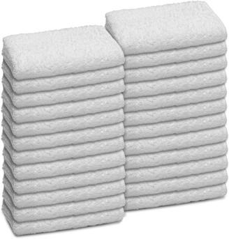 Martex 24-pack Commercial Washcloth Set