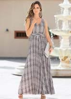 Together Pleat Maxi Dress