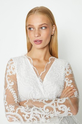 Coast Long Sleeve Lace Jacket