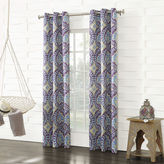 Sun Zero Sun ZeroTM Raven Room-Darkening Grommet-Top Curtain Panel