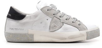 Philippe Model Glitter Low-Top Sneakers