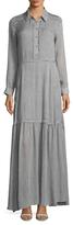 Dolce Vita Fiona Fringe Trimmed Shirtdress
