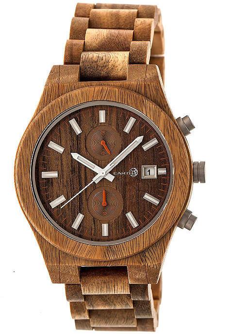 Earth Wood Castillo Unisex Green Bracelet Watch-Ethew5104
