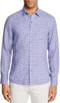 Zachary Prell Althoff Plaid Regular Fit Button-Down Shirt