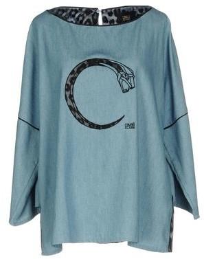 Class Roberto Cavalli Denim shirt